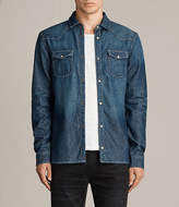 AllSaints Irby Denim Shirt