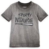 Butter Shoes Boys' Mineral-Wash Sporty by Nature Tee - Little Kid