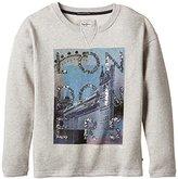 Pepe Jeans Girl's Printed Sweatshirt - Grey -