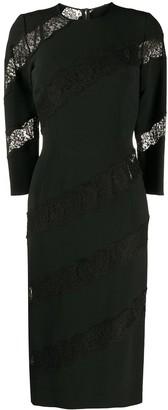 Dolce & Gabbana Lace-Detail Sheath Dress