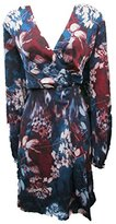 Adrianna Papell Women's Printed Tapered Wrap