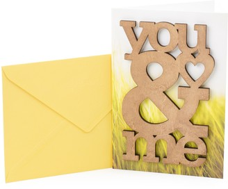 "Hallmark Signature Anniversary ""Wooden You & Me"" Greeting Card"