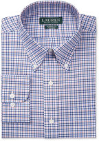 Lauren Ralph Lauren Men's Classic-Fit Non-Iron White and Red Multi-Check Dress Shirt