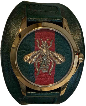 Gucci G-Timeless Green Steel Watches