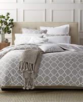 Charter Club Damask Designs Geometric Dove Full/Queen Duvet Set, Created for Macy's