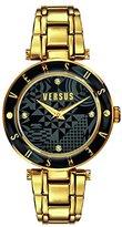 Versus By Versace Women's SP8110014 Logo Analog Display Quartz Gold Watch