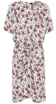 Isabel Marant Rehora printed silk dress