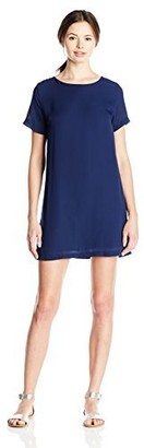 Lucy-Love Lucy Love Women's Charlotte Woven Shift Dress