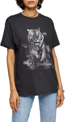 Topshop Night Tiger Tee