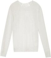 Clu Silk Back Sweater