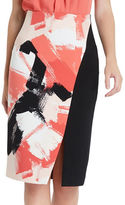 Ellen Tracy Asymmetrical Pencil Skirt