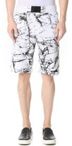 Calvin Klein Jeans Marble Print Shorts