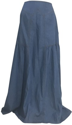 Sandra Weil Blue Denim - Jeans Skirt for Women