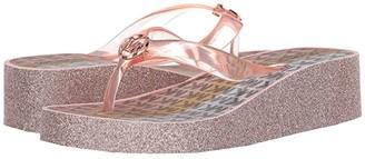 MICHAEL Michael Kors Kids Gage Donna (Little Kid/Big Kid) (Rose Gold 2) Girl's Shoes