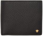 Versace Black Small Medusa Bifold Wallet