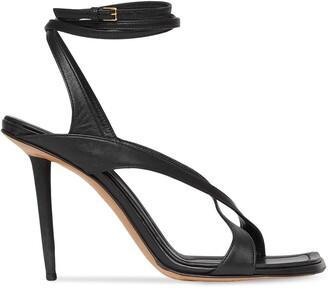Burberry Wraparound Stiletto-Heel Sandals