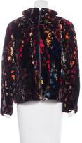 Neiman Marcus Sheared Mink Coat