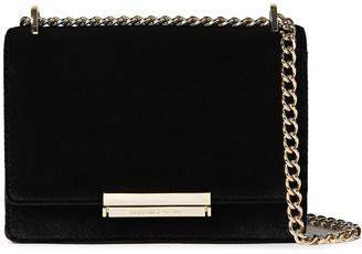Kate Spade Marci Chain-trimmed Velvet Shoulder Bag