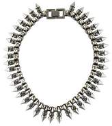 Mawi Claw Set Spike Crystal Necklace