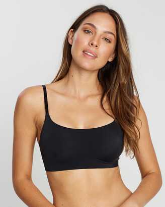 Calvin Klein Women's Black Soft Cup Bras - Invisibles Bralette - Size XS at The Iconic