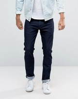 Wrangler Low Rise Slim Leg Jean in Rinse Brushed Wash