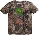 John Deere Toddler Boy Camouflaged Logo Tee
