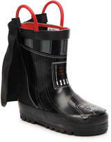 Western Chief Boys Star Wars Darth Vader Toddler & Youth Rain Boot