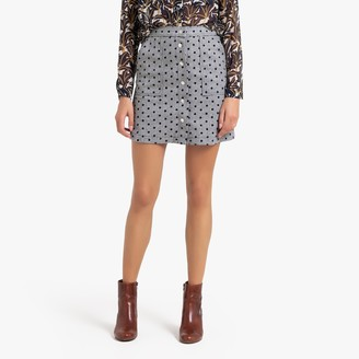FRNCH Elianne Short Straight Skirt