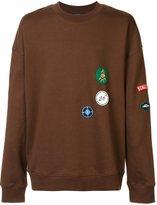 Raf Simons patches sweatshirt