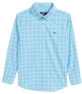 Vineyard Vines Marsh Harbor Plaid Woven Shirt