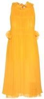 Sonia Rykiel Plissé Chiffon Dress