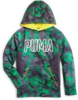 Puma Boys' Camo Print Hoodie - Sizes 4-7