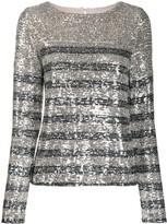 Carita sequin blouse