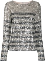 Carita In The Mood For Love sequin blouse