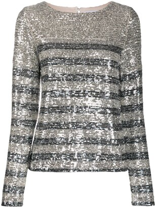 In The Mood For Love Carita sequin blouse