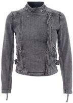 IRO - Denim motorcycle jacket