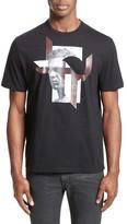 Neil Barrett Men's Modernist Steve Mcqueen Graphic T-Shirt