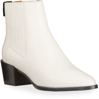 Rag & Bone Rover Leather Ankle Booties