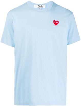 Comme des Garcons Little Red Heart logo T-shirt