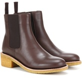 A.P.C. Leather Chelsea Boots