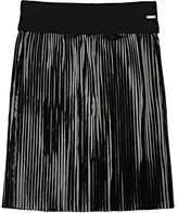 Givenchy Pleated Coated Jersey Skirt