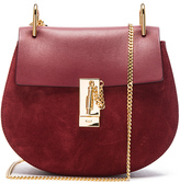 Chloé Small Drew Suede & Leather Bag