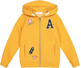 La Redoute Collections Cotton Mix Zip-Up Hoodie, 3-12 Years