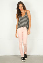 Skinny Jean with Holes in Peach - by Rag & Bone/JEAN