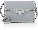 Valentino Women's Rockstud Small Crossbody-RED, LIGHT GREY