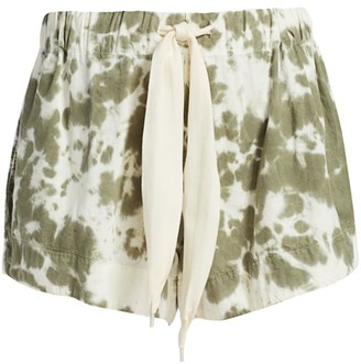 Bassike Motley Tie-Dye Shorts