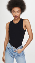 Autumn Cashmere Open Back Muscle Tee