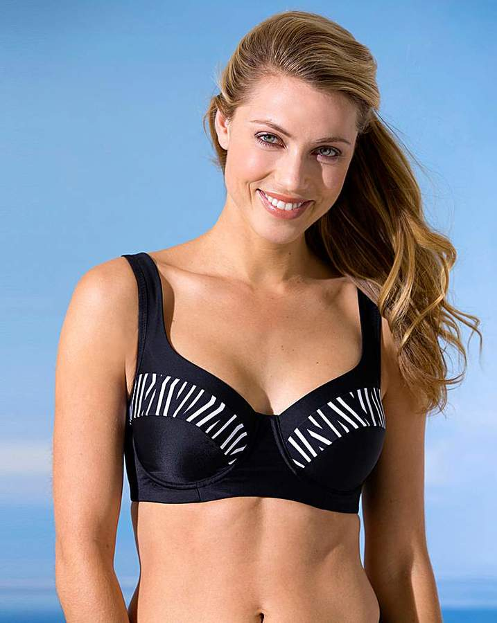 Miss Mary Of Sweden Miss Mary Graphic Print Bikini Top