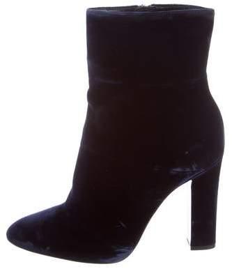 Gianvito Rossi VelvetvAnkle Boots