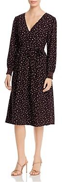 Baobab Collection Faun Dot Print Faux-Wrap Dress